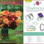 Tanzanite ring featured in Get Married Fall 2010 issue