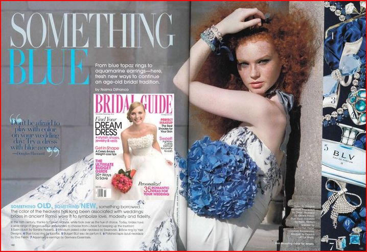 Topaz ring by Yael Designs featured in Bridal Guide