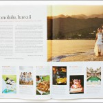 Hawaii destination wedding photographed by Choco Studio featured in Destination Weddings & Honeymoons June 2010 issue