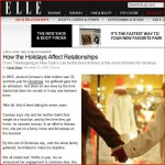 Yael Designs CEO Yehouda Saketkhou is quoted on a story about holiday proposals on Elle.com