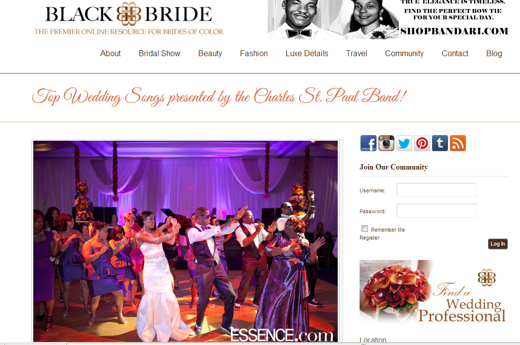 Black Bride featured music selection by Star Talent. November 2013