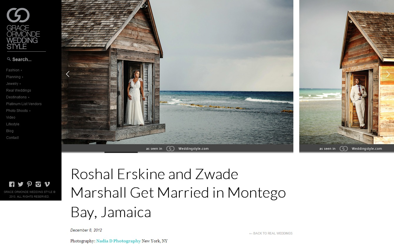 Nadia D. Photography featured in Grace Ormonde.