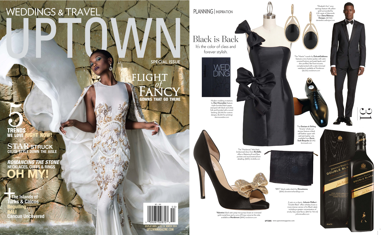 Uptown Magazine featured Kirribilla dress. January 2014