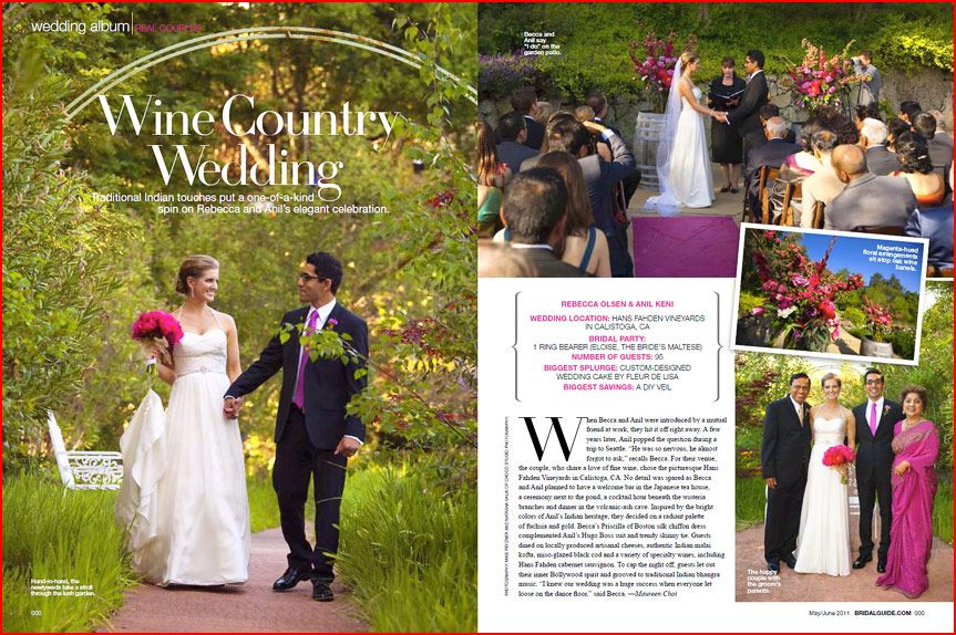 Bridal Guide features Hans Fahden wedding by Choco Studio in May 2011 issue
