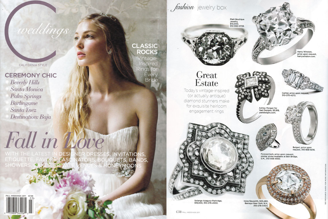 C weddings jewelry