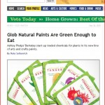 East Bay Express features eco friendly paint company Glob