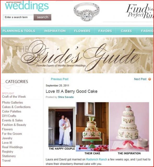 Martha Stewart Weddings features Choco Studio
