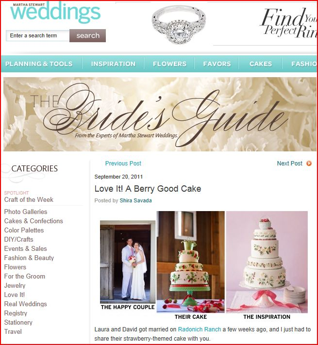 Martha Stewart Weddings features Choco Studio