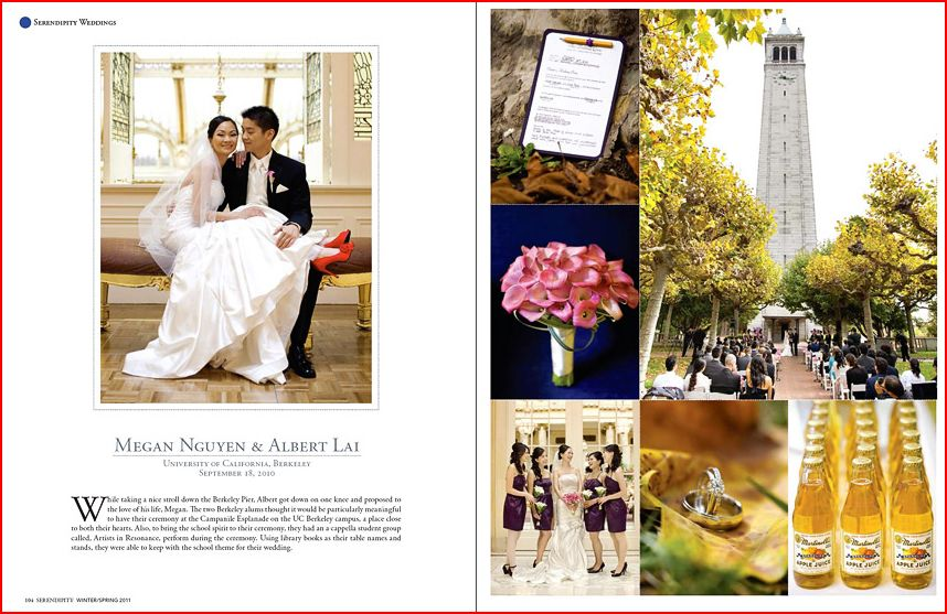 Serendipity magazine Asian wedding by Choco Studio