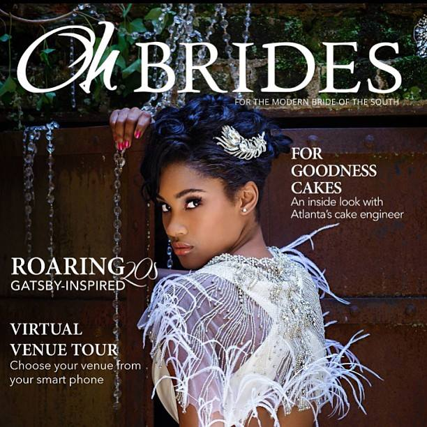 Oh-Brides Cover shot by Nadia D. Photography. October 2013