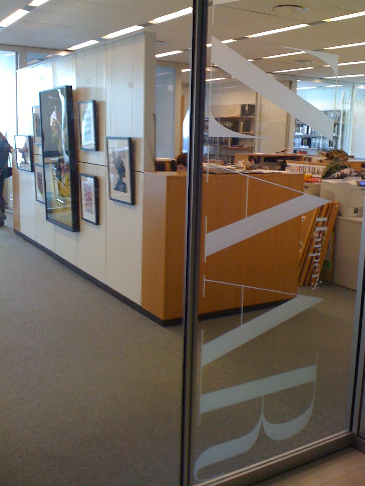 Harper's Bazaar office