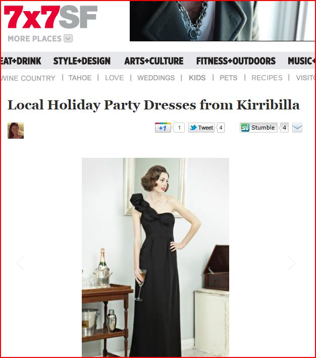7x7 features Kirribilla dresses