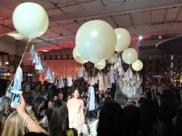 Runway at The Lab wedding event in Sonoma