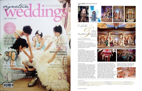 Signature Weddings features Nadia D Photography