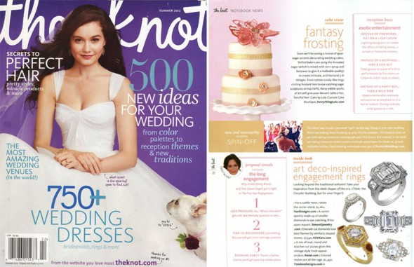 The Knot features Yael Designs engagement ring