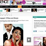 Essence magazine features engagement by Nadia D Photography