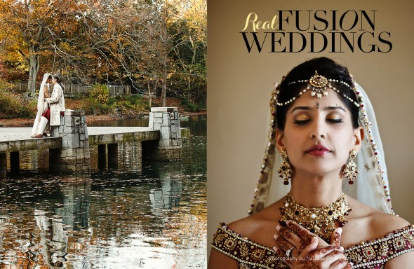 Real wedding by Nadia D Photography in Wedding Nouveau