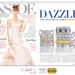 Inside Weddings features Yael Designs jewelry