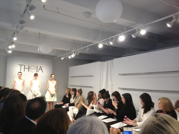 Theia runway at Bridal Week Spring 2013