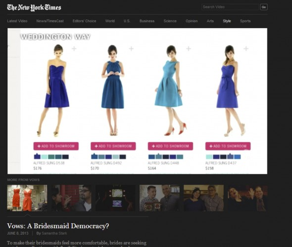 Weddington Way Transforming Bridesmaid Dress Shopping