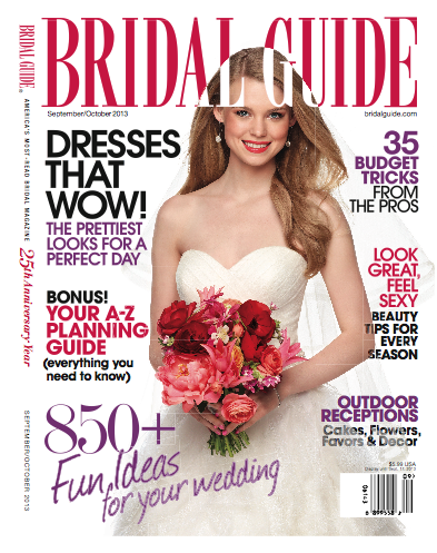 Bridal Guide Magazine Fall 2013