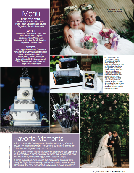 Nadia D Photography featured in Bridal Guide Magazine