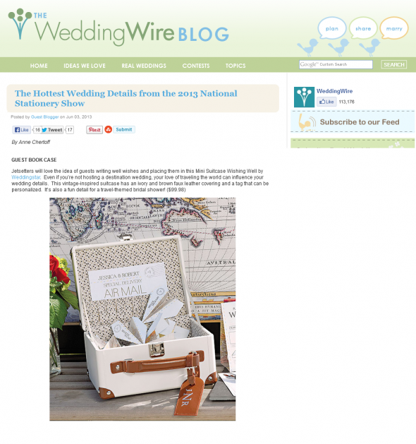 Wedding Wire featured Wedding Star