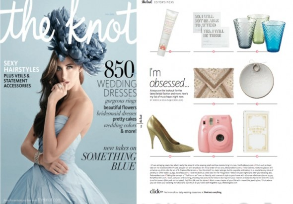Weddingstar featured in The Knot