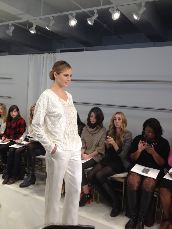 Theia Couture Pant Suit
