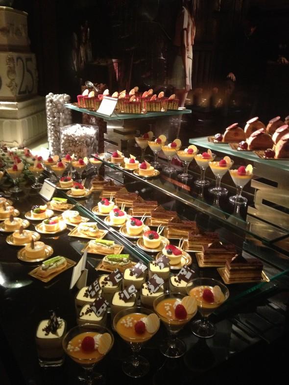 Food at the 25th Anniversary of The Peninsula NY