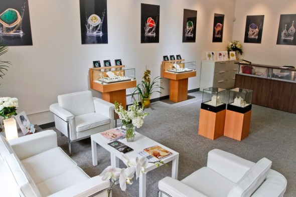 Yael Designs San Francisco jewelry showroom