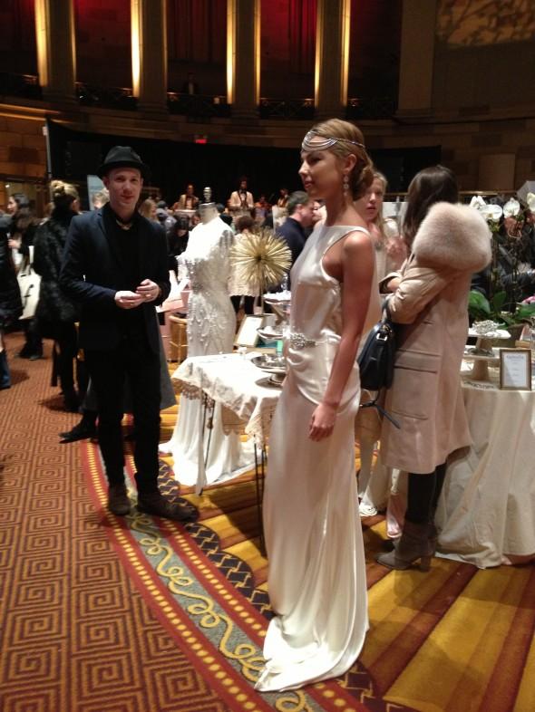 Dress from Gabriella Salon