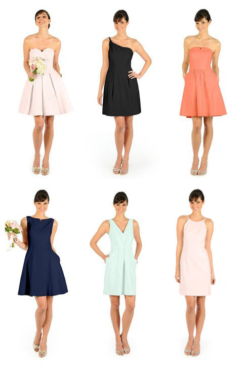 Six Styles of Weddington Way dresses