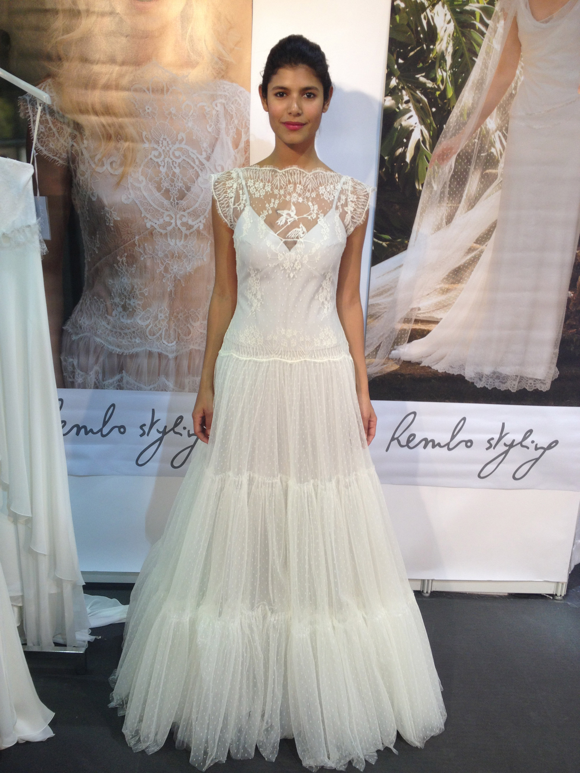 International bridal designers stun at new york city s for International wedding dress designers