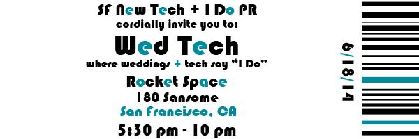 Wed Tech Invite
