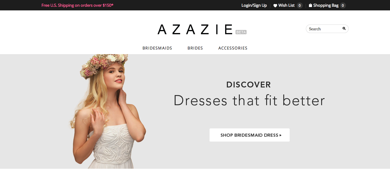 4fd5ec19698 Azazie Launches Online Shop for Custom Bridal Dresses