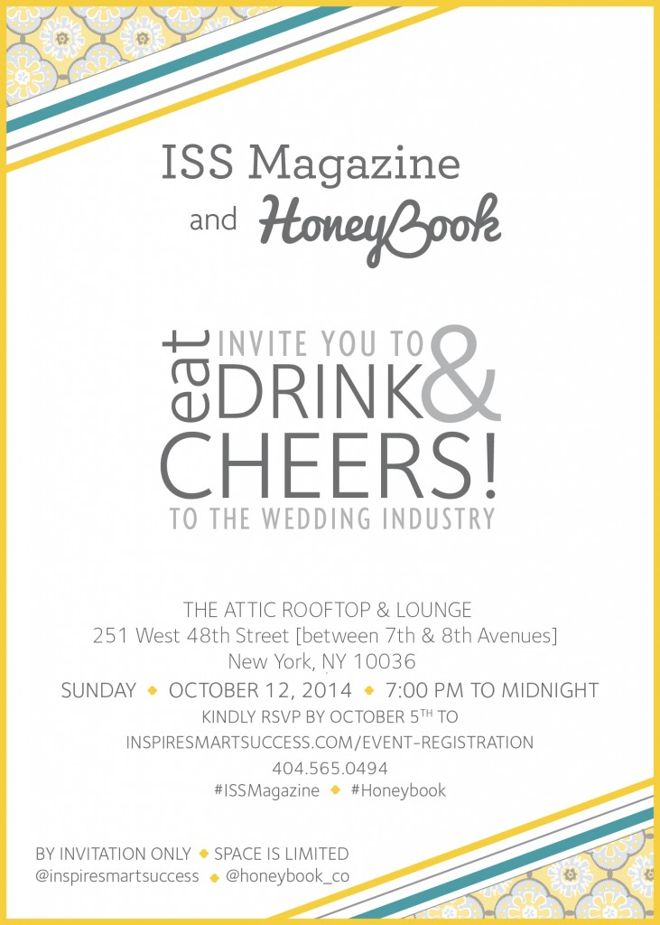 ISS HoneyBook New York Bridal Week PartyISS HoneyBook New York Bridal Week Party