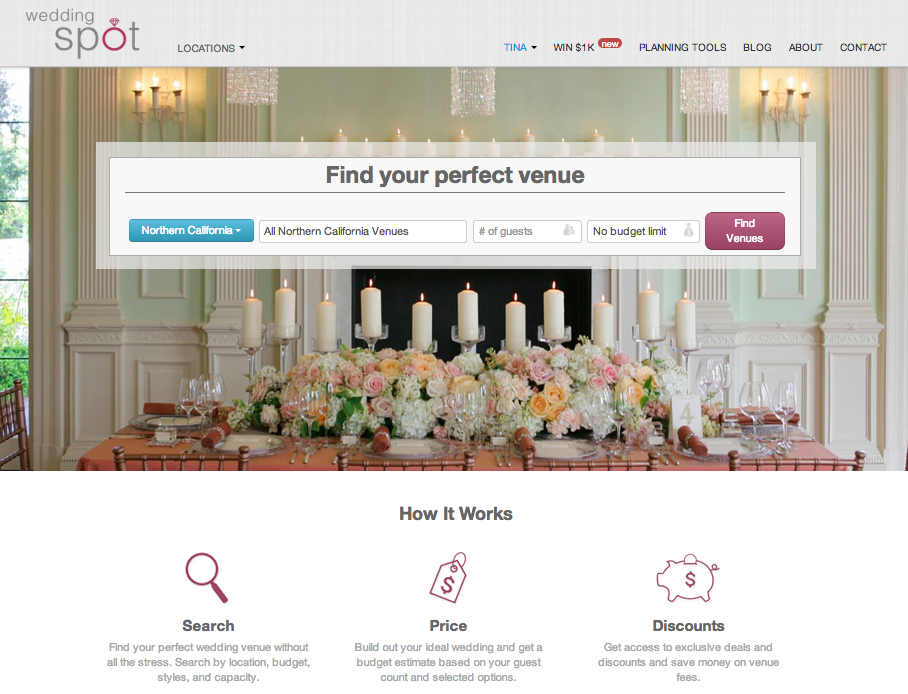 Wedding Spot helps couples find wedding venues