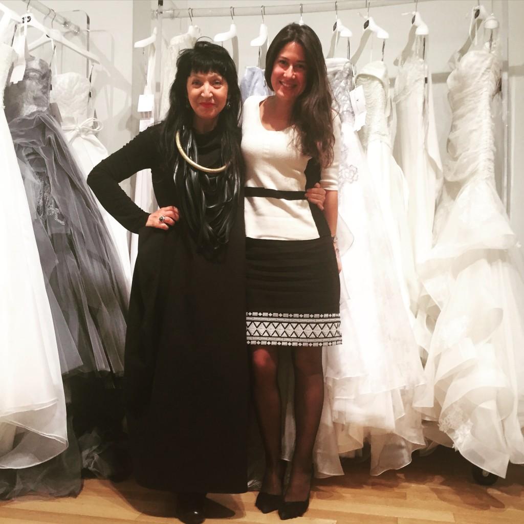 Elisabetta Polignano and Sasha Vasilyuk at Group868