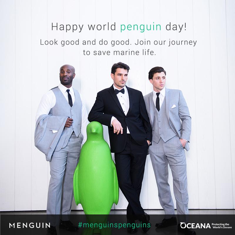 Menguin partners with Oceana to save marine wildlife