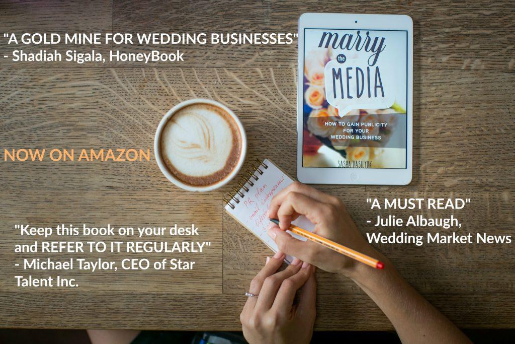 Marry the Media wedding PR book reviews