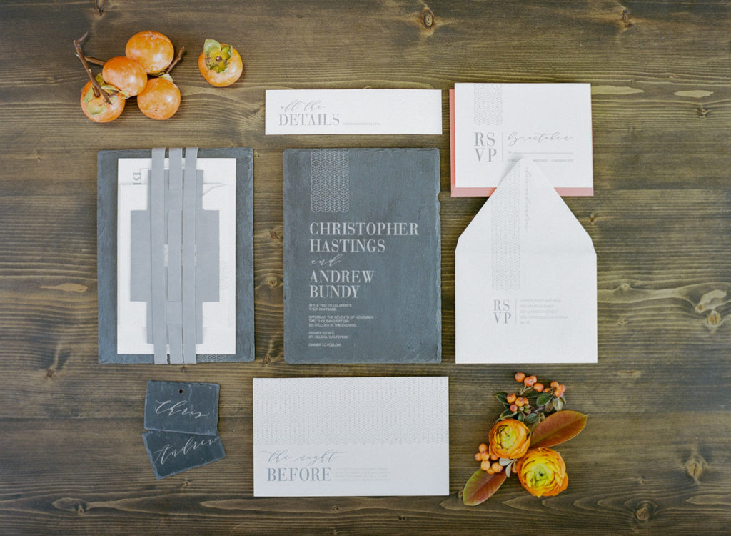 Persimmon suite by Yonder Design